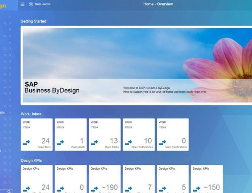 SAP Business ByDesign HTML5 User Interface Sneak Preview