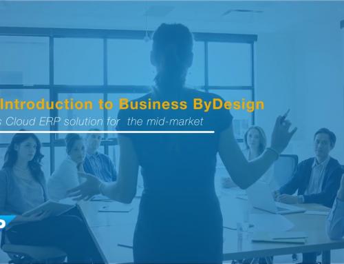 SAP Business ByDesign 2017