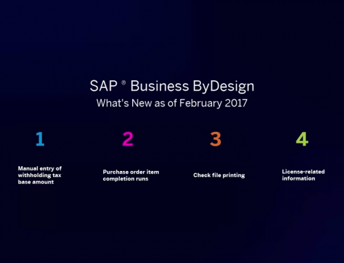 Was ist neu? SAP Business ByDesign – Februar 2017