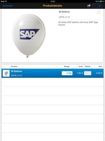 SAP Business ByDesign Active Sales App Bild 3