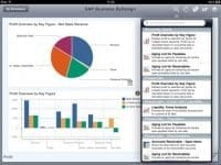 SAP Business ByDesign Dashboard App Bild 2