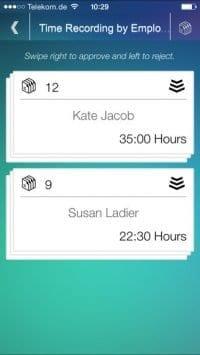 SAP Manager Approvals App Bild 5