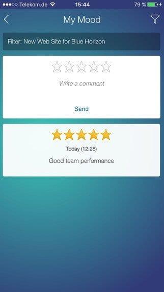 SAP Project To Go App Bild 4