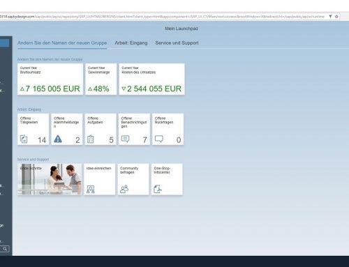 Die HTML5-basierte Benutzeroberfläche von SAP Business ByDesign als Standard nutzen
