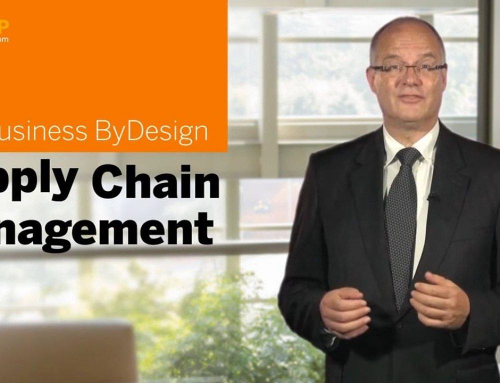 SAP Business ByDesign: Supply Chain Management – Kostenloser Online-Kurs auf openSAP