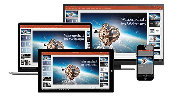 Microsoft Office 365 auf allen Geräten