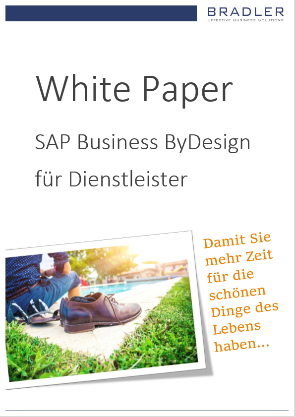 White Paper SAP Business ByDesign für Dienstleister