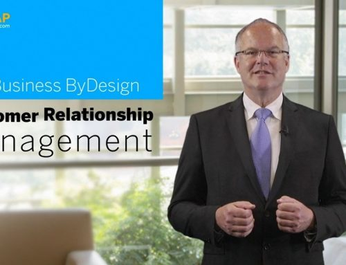 SAP Business ByDesign: Customer Relationship Management – Kostenloser Online-Kurs auf openSAP