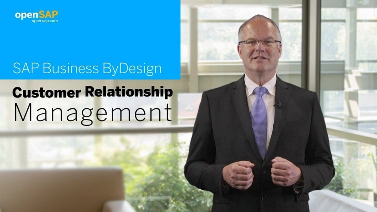 openSAP - Customer Relationship Management