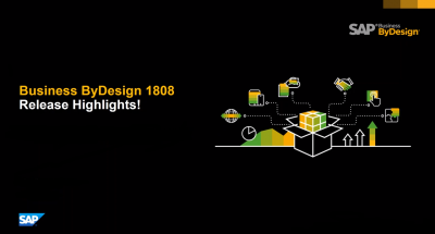 SAP Business ByDesign 1808 Release Update