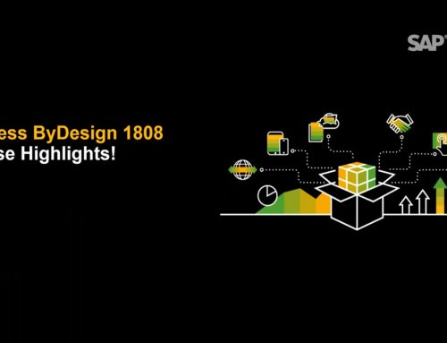 Was ist neu? SAP Business ByDesign – August 2018