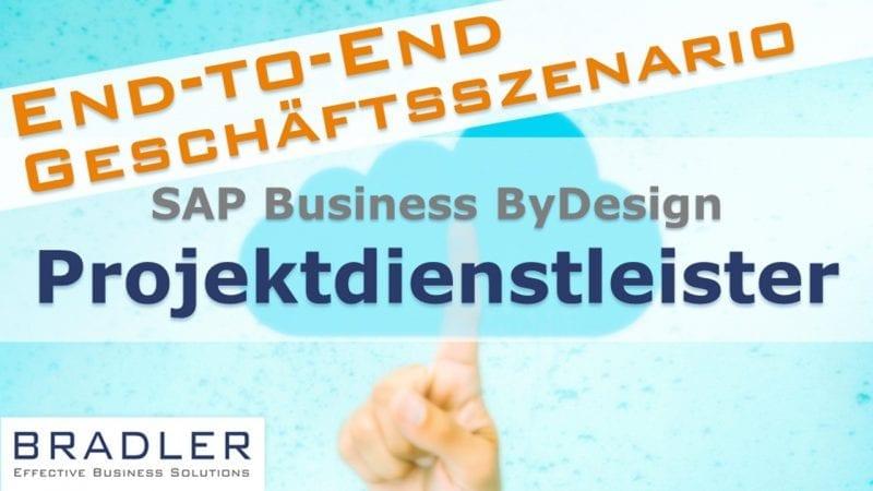 SAP Business ByDesign für Projektdienstleister