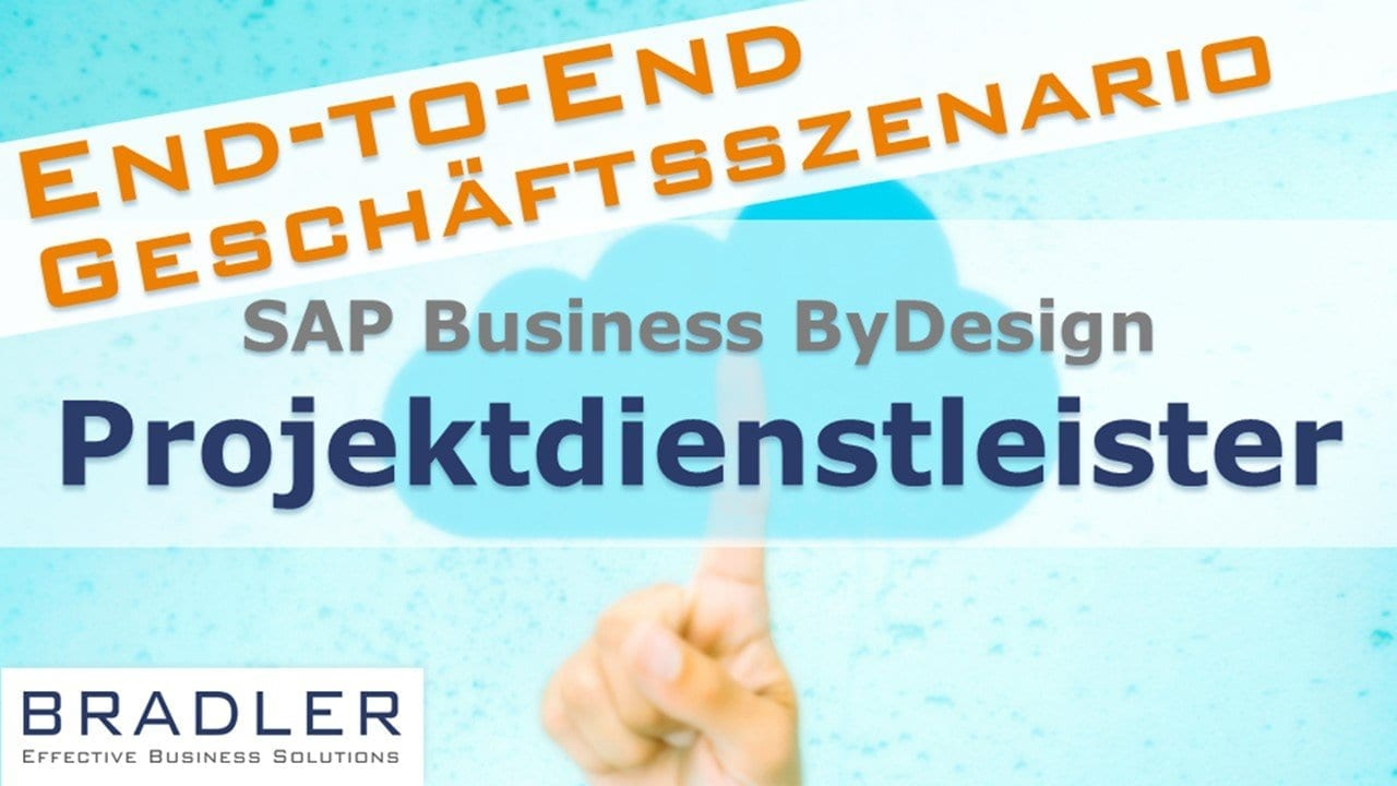 SAP Business ByDesign für Projektdienstleister