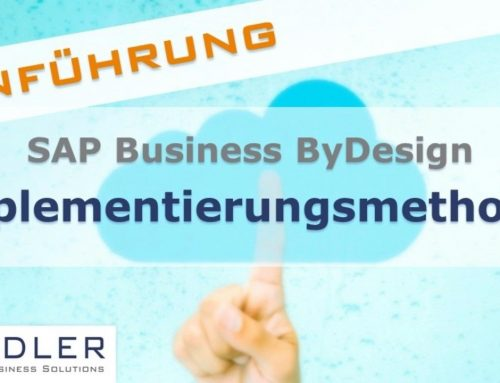 SAP Business ByDesign: Implementierungsmethodik der Bradler GmbH