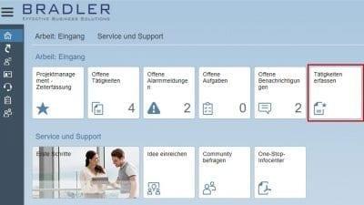 SAP Business ByDesign - Tätigkeiten erfassen