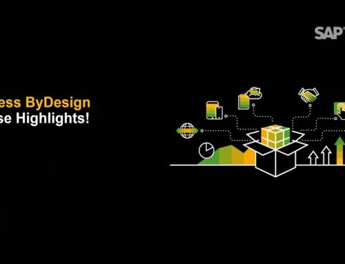 Was ist neu? SAP Business ByDesign – August 2019