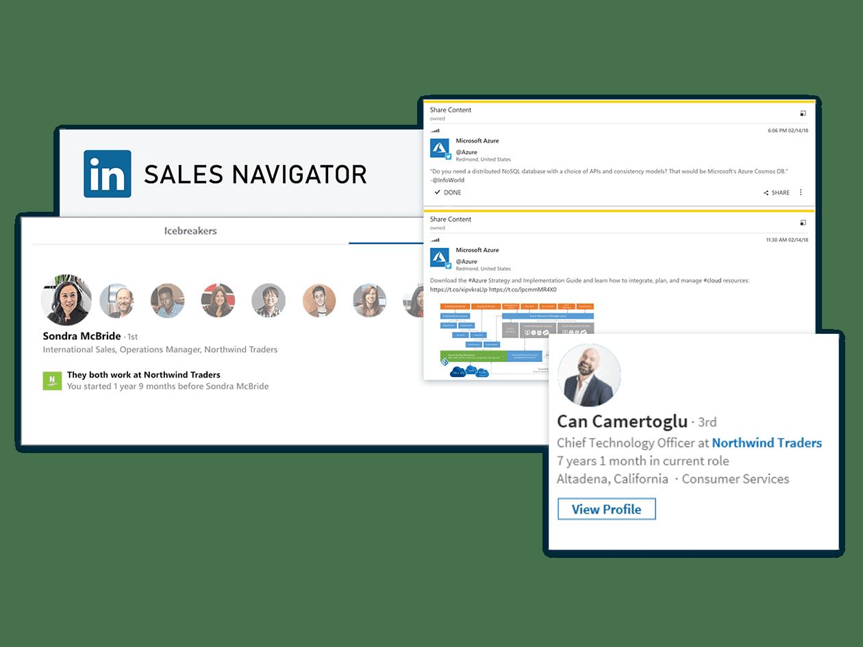 Microsoft Dynamics 365 LinkedIn Sales Navigator
