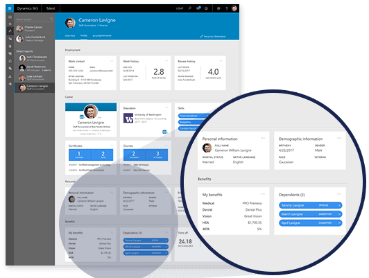 Microsoft Dynamics 365 for Talent - Optimieren Sie Ihre HR-Prozesse