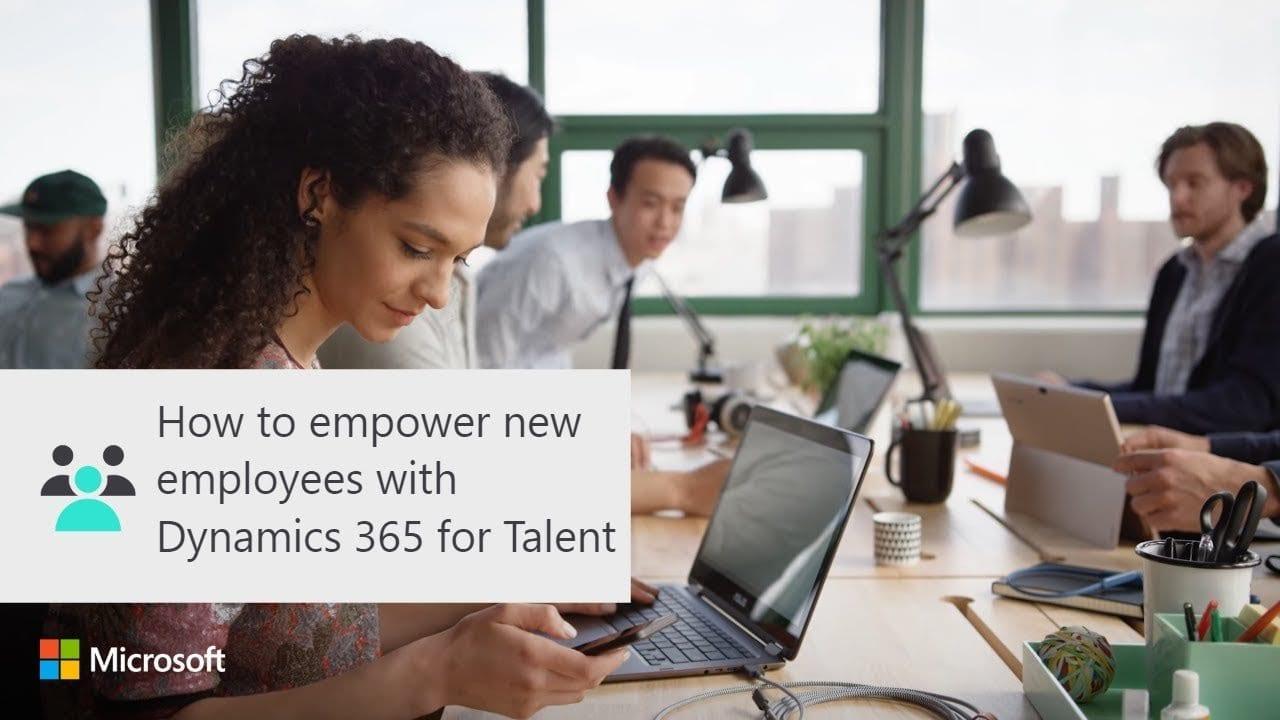 Stärken Sie neue Mitarbeiter mit Dynamics 365 for Talent Onboard