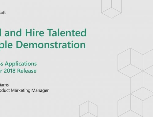 Dynamics 365 for Talent in Verbindung mit LinkedIn Recruiter nutzen