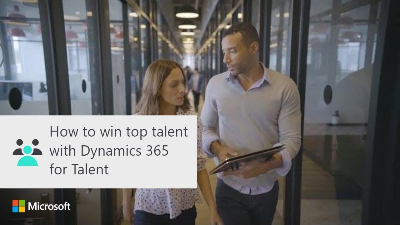 Top Mitarbeiter gewinnen, mit Microsoft Dynamics 365 for Talent