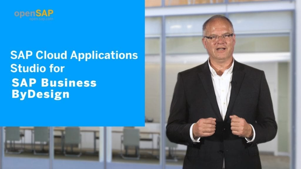 SAP Cloud Applications Studio for SAP Business ByDesign